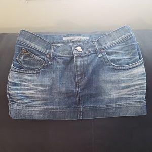 Miss Sixty Denim Mini Skirt